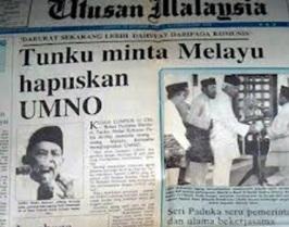 hapuskan UMNO